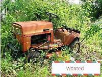 Wanted mowers