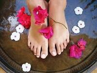 Gel or Artistic Nails, or Deluxe Spa Pedicure $25