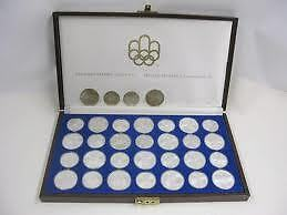 MONNAIE, olympique 1976 en argent sterling .925 diamants Longueuil / South Shore Greater Montréal image 1