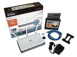 New-D-link-DIR-665-450-Mbps-4-Port-Gigabit-Wireless-N-Router-Dual-Band-802-11n