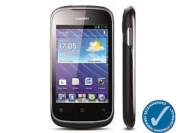 Telstra Huawei Ascend Y201 Pro Next G Blue Tick Android 4.0 Black Smartphone