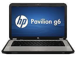 HP Pavilion G6 Notebook , Core i3 M370 2.4 GHz processor , Ram - 4 GB , Storage - 160 GB , Screen Size - 15.6""
