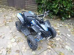 hawkmoto mini quad 50cc , 2 stroke