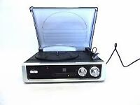 Dual DTR 50 turntable with built in speakers