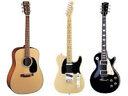 Guitar Tuition - Beginners to Advanced - SW London