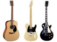 Guitar Tuition - Beginners to Advanced
