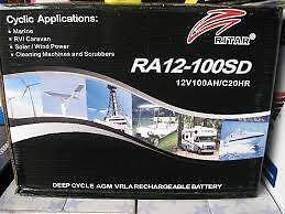 Ritar 120 AMP   AGM BATTERY $330 Mackay Region Preview