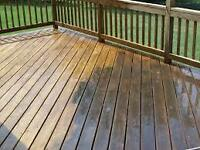 Deck & Fence Staining / Pressure Wash
