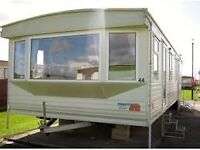 Pemberton elite 2003 static caravan based at three lochs Scotland Dumfries and Galloway 3 bed 38x12