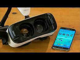 Samsung galaxy s6 edge and VR headset