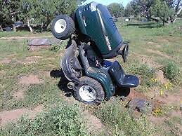 Looking for unwanted lawn tractors