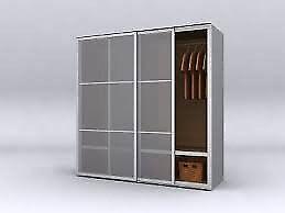IKEA Pax Stordal Sliding Wardrobe Doors.