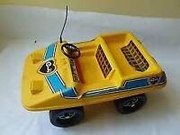 Sindy Yellow Beech Buggy 1970s vintage