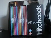 Alfred Hitchcock boxed set of 14 films on dvd