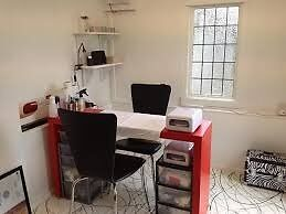 Nail desk to let in a busy high street shop in Wednesbury town centre