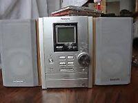 Panasonic SA-PM10 Micro Hi Fi System, with speakers