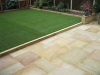 indian stone resin driveway decking artificial grass