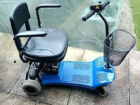 SHOPRIDER ROMA ALTEA MOBILITY SCOOTER in blue