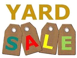 Yard sale saturday