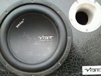 Vibe cbr10 subs built in amps x2