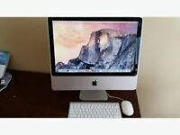imac 7,1 without keyboard, with mouse, mint condition