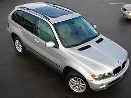BMW X3  and X5 Sunroof Repairs