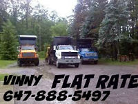 FLAT RATE CLEAN UP AND DISPOSAL ONLY.$15-$85.TREE REMOVAL.