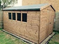 Large Shed Required