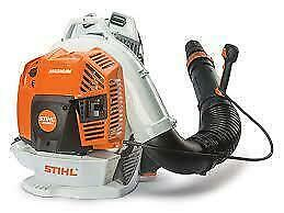 ITS HERE! STIHLS NEW BR800 BACK PACK BLOWER!