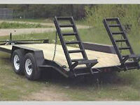OPEN TRAILERS TO RENTTO MOVE YOUR EQUIPMENT
