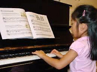 Piano or keyboard lessons
