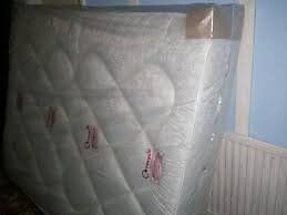 Brand New Quilted Kingsize Mattress in White fabric FREE delivery