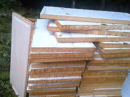 Cut-out insulation