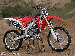 Looking for damaged motocross bikes