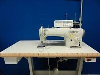 NEW BROTHER S7200C-403 DIRECT DRIVE INDUSTRIAL SEWING MACHINE - +LIGHT