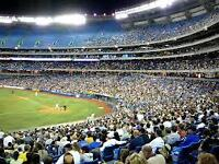 TORONTO BLUE JAYS HOME GAMES OPENER   Friday April 8th