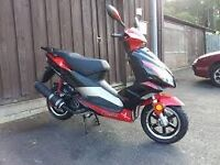 50cc pulse light speed 2, 64 reg. good runner