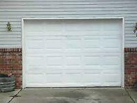 PORTES DE GARAGE + OUVRE PORTES   Porte de garage COMPLET (blan