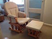 Dutailier Chloe Glider Chair & Stool