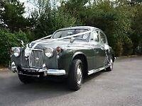 1961 Rover p4 100