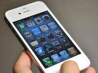 white iphone 4S-16G (REDUCED TO SELL)