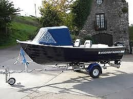 TALISMAN 465 FISHING PACKAGE COMPLETE WITH 20HP TOHATSU OUTBOARD AND TRAILER EX DISPLAY MODEL