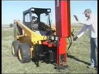 Wanted large capacity hydraulic post pounder / skid steer mount