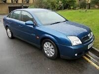 2002 VAUXHALL VECTRA LIFE 5 DOOR HATCHBACK, ALLOYS, C/D PLAYER, LONG MOT.