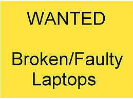 WE BUY BROKEN LAPTOPS, BROKEN MACBOOKS AND WORKING LAPTOPS
