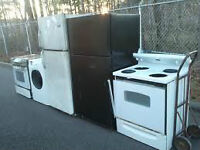 FREE REMOVAL OF ALL STOVES AND SCRAP METAL