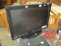 "26"" LOGIC LCD TV DVD & USB PORT FREEVIEW HD GOOD CONDITION GREAT WORKING ORDER CAN DELIVER BARGAIN"