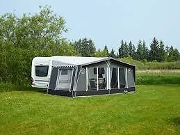 Luna Delta 540/2 Caravan with Isabell awning, groundsheet and full contents ready to use