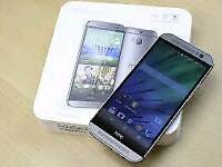 HTC M8 Brand new with warranty and accessories unlocked!