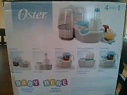 Oster baby food center